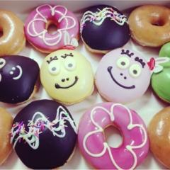 【バーバパパ】とクリスピー・クリーム・ドーナツがコラボ!