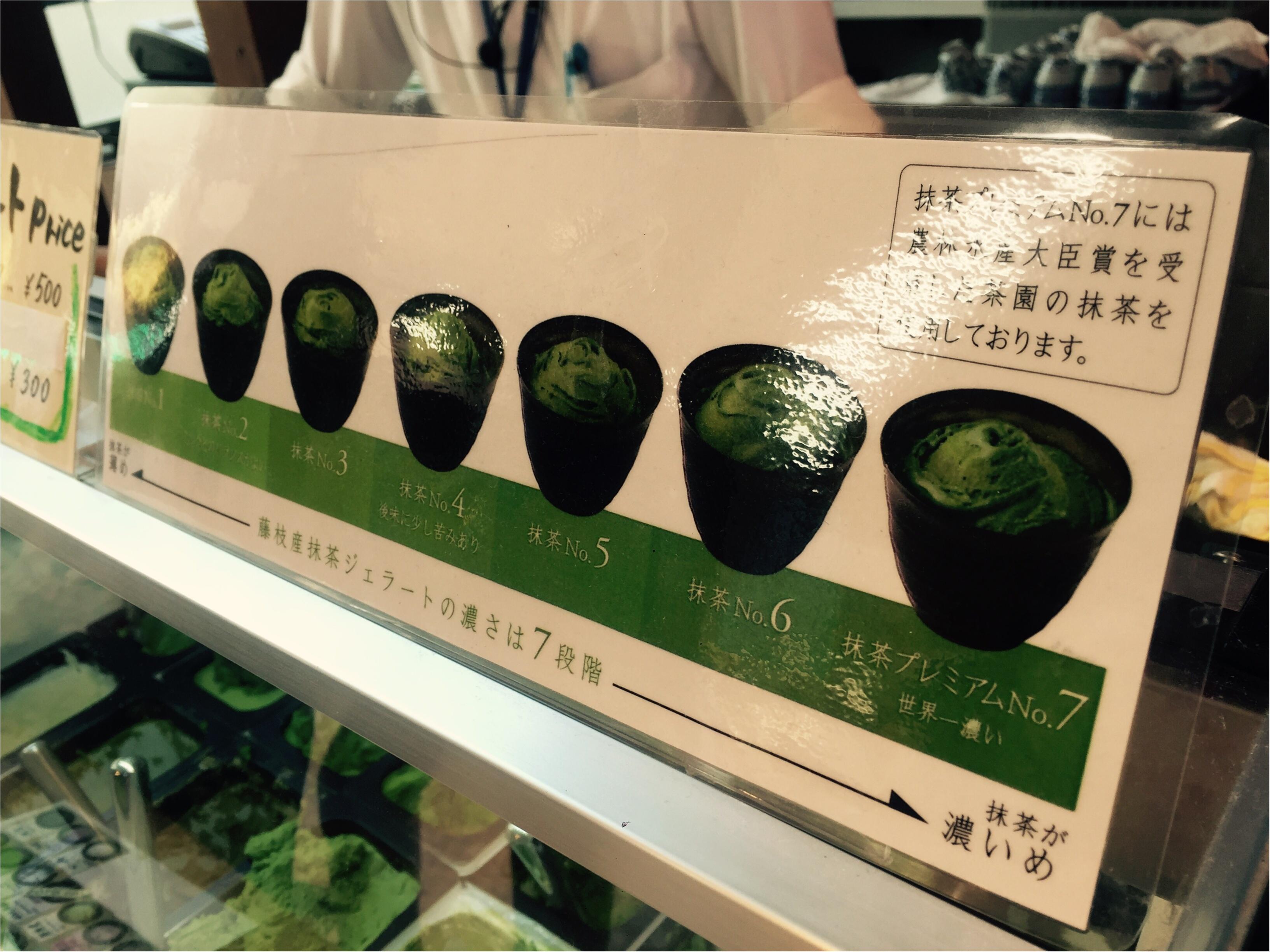 世界で一番濃い抹茶アイス!静岡のななやの抹茶アイスが濃厚すぎる♡_3