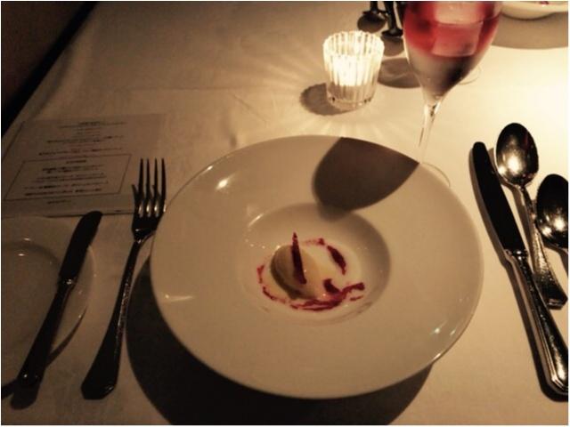 【AUXAMIS TOKYO】東京駅丸ビル35階絶景のフレンチレストランで誕生日ディナー♡_5