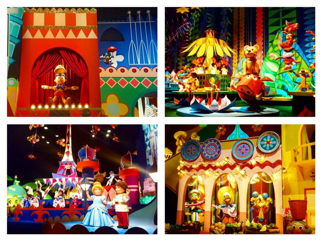 【 しの散策 】東京ディズニーリゾート 35周年 ★ リニューアルした《 イッツ・ア・スモールワールド 》が 可愛いすぎる ♪_6