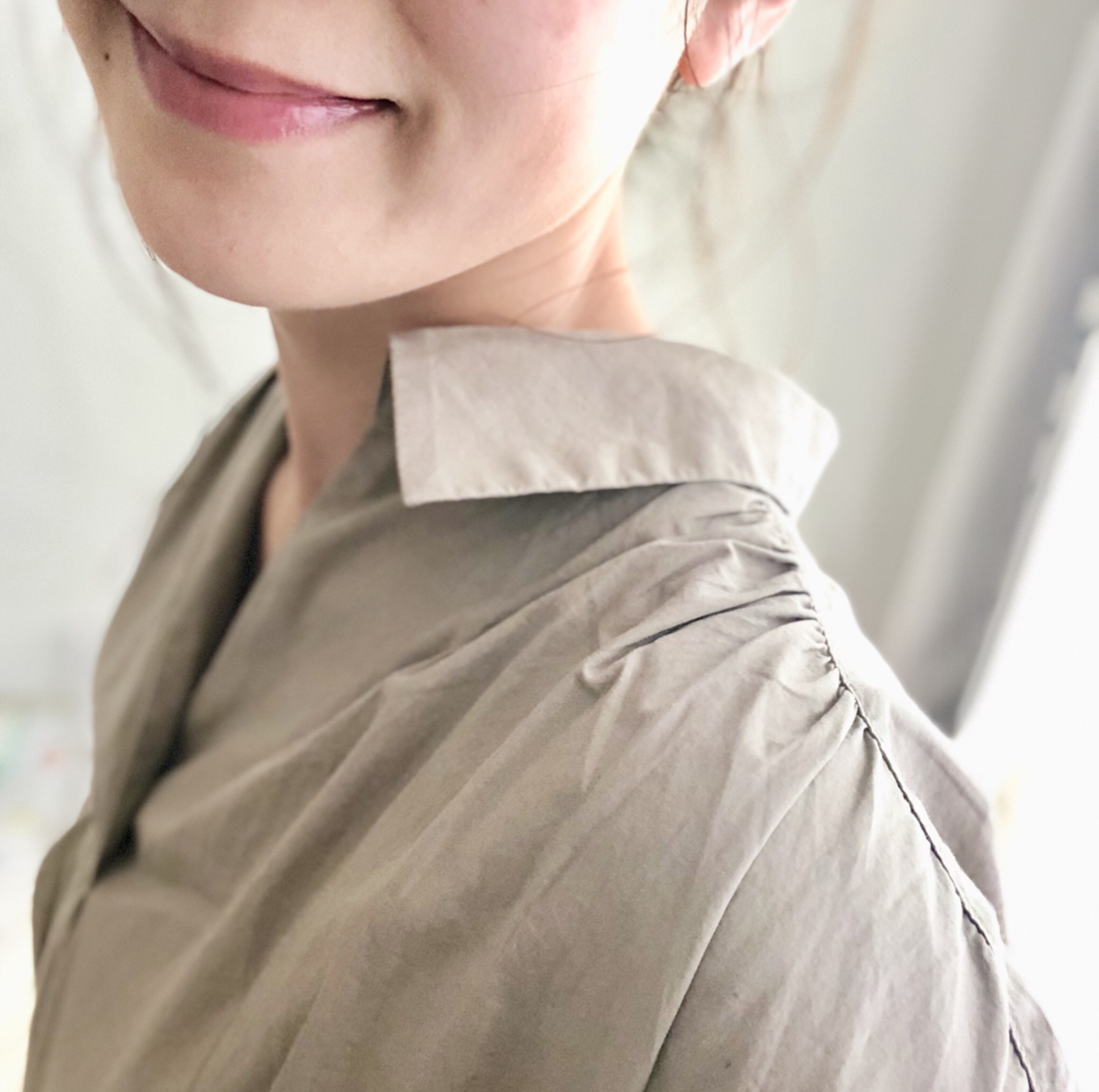 【GU新作】SNSで話題沸騰の《Aラインシャツワンピース》は週4着られる優秀アイテム❤️_2