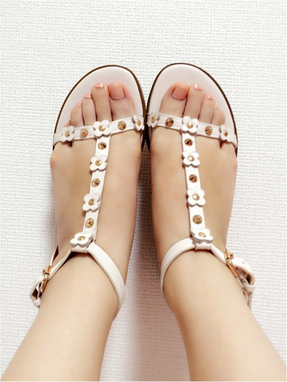 靴は素敵なものを…♡一目惚れしたcoachのサンダル!_2