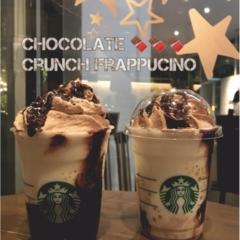 【FOOD】やっぱり美味しい♡スタバ 東急プラザ店限定 #チョコレートクランチフラペチーノ