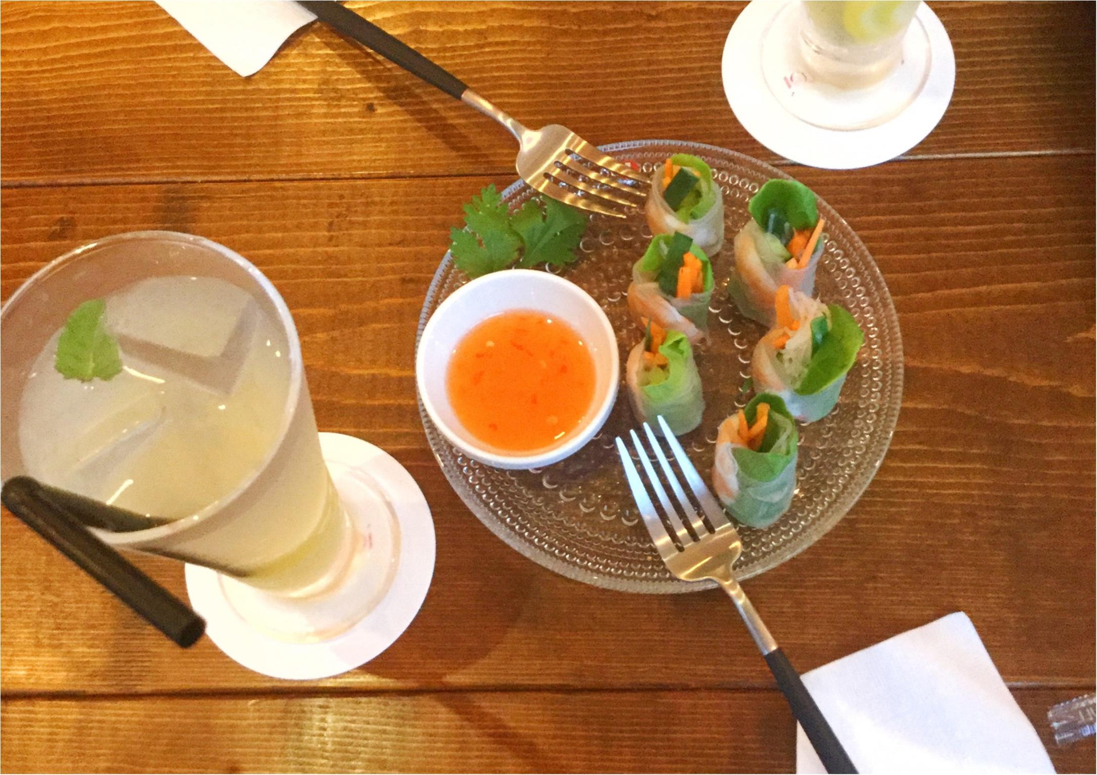 【美容食】ピンクカラーが映えるオシャレな空間のタイ料理専門店!《イム・アロイ》のヘルシーメニューで体の中から綺麗になりませんか❤️_4
