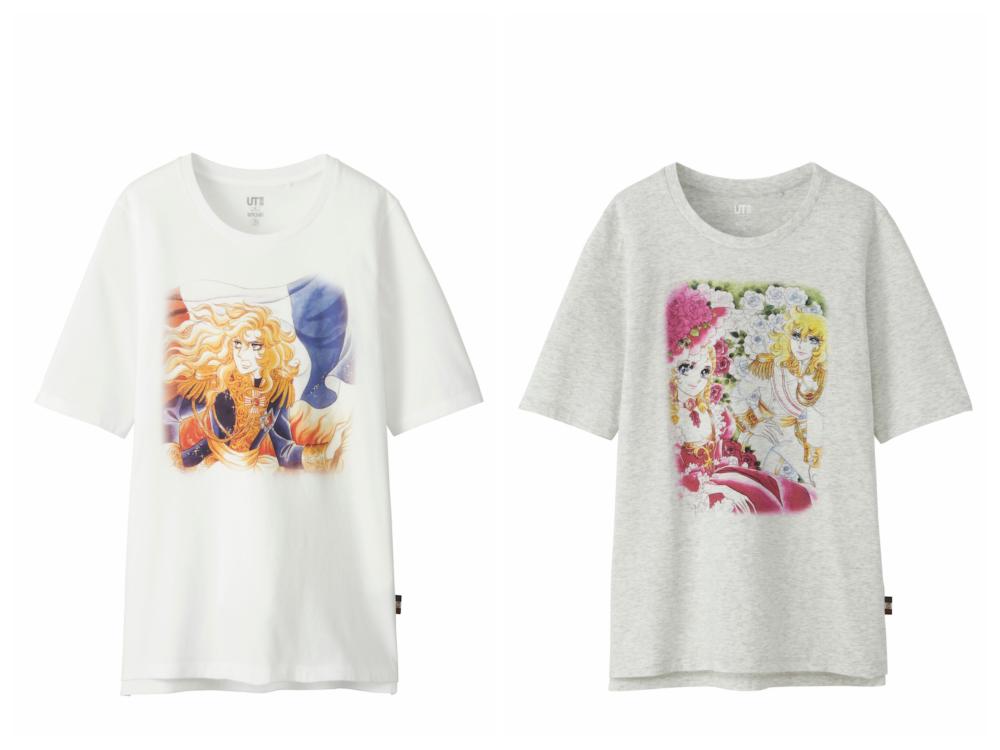 『ユニクロ』にオスカル降臨♡『ベルばら』Tシャツ、もう買った!? _4