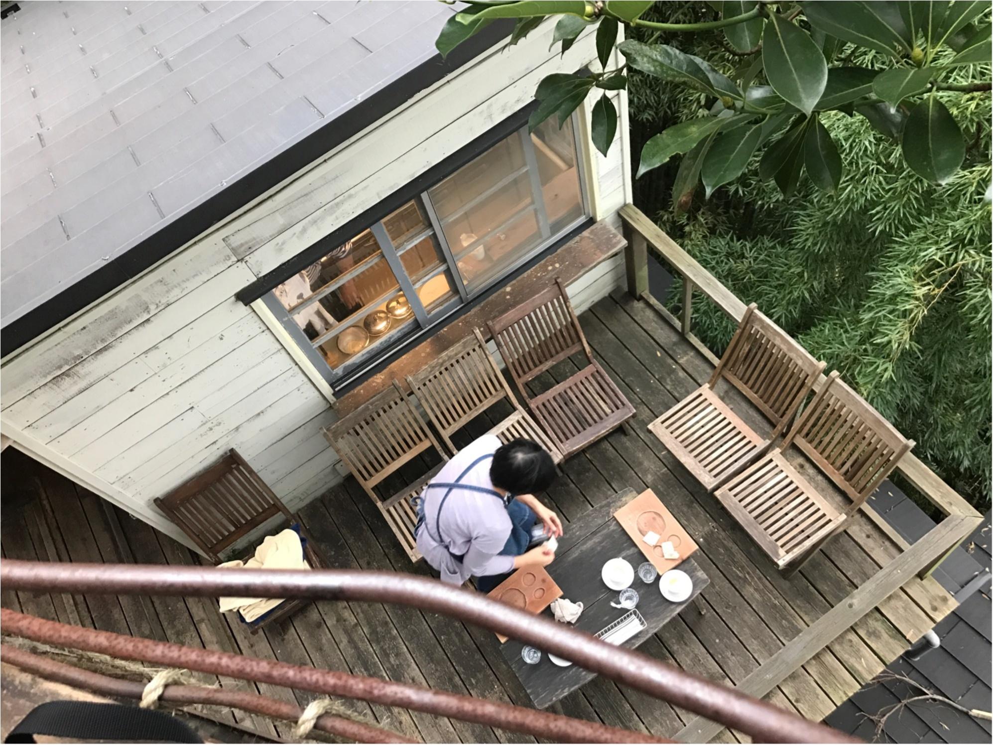 """【ドラマロケ地カフェ】女優水川あさみさん""""シェアハウスの恋人""""で使われたツリーハウスカフェ潜入!オトナの秘密基地発見!限定30食メニュー食べてきました♡♡_9"""