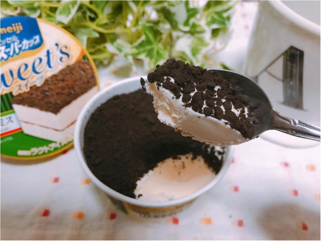 乃木坂46のCMでお馴染み【スーパーカップ】ケーキなの?アイスなの?『Sweet's』シリーズから《ティラミス》が登場★_3