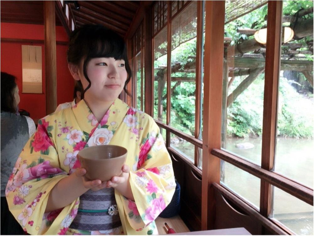 《週末金沢旅》浴衣で風情を感じながら金沢を街歩き〜兼六園・ひがし茶屋街〜♡*_5