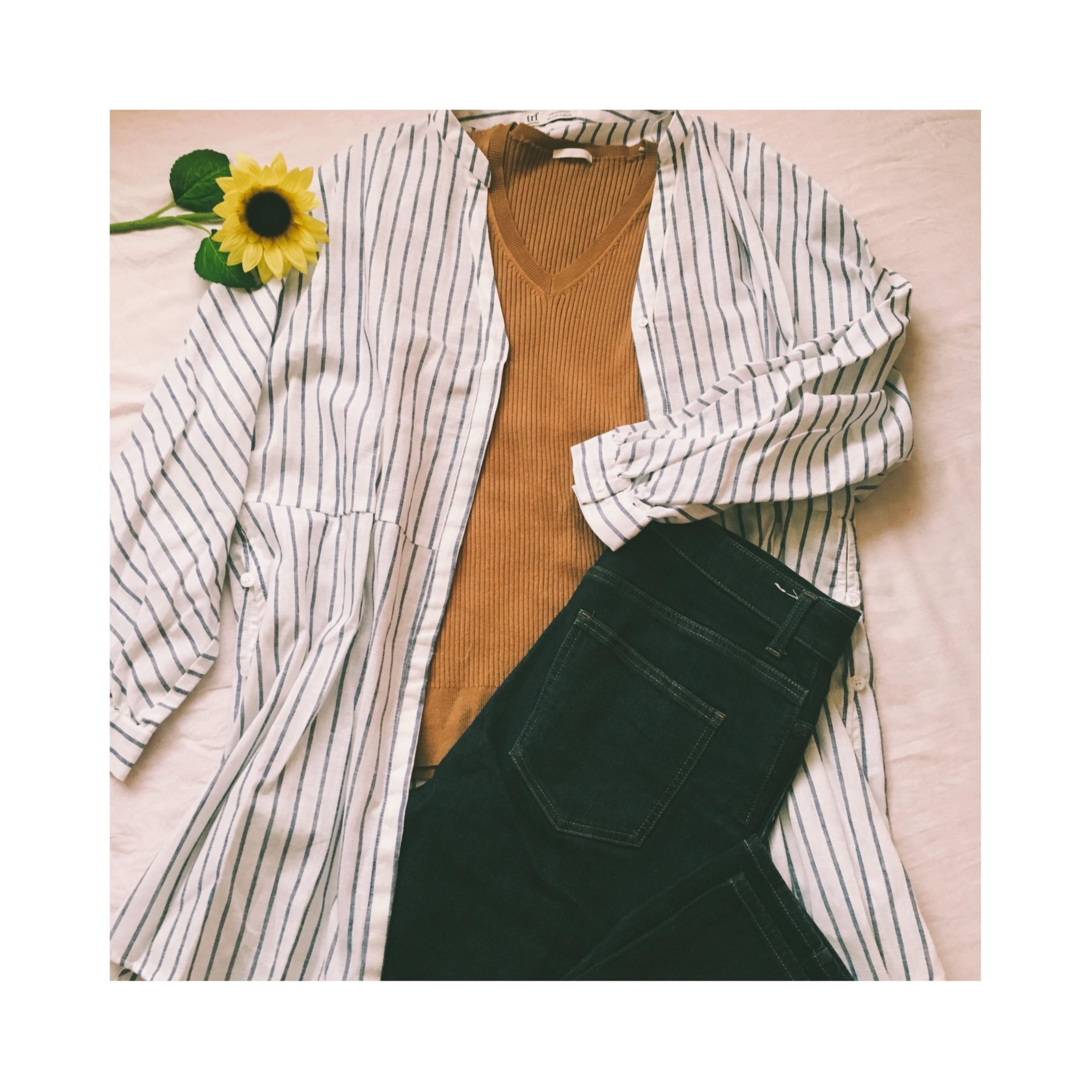 この夏トレンドの《レイヤードコーデ》もプチプラで★【ZARA】のセールでシャツガウン¥2,990をゲット❤️_1