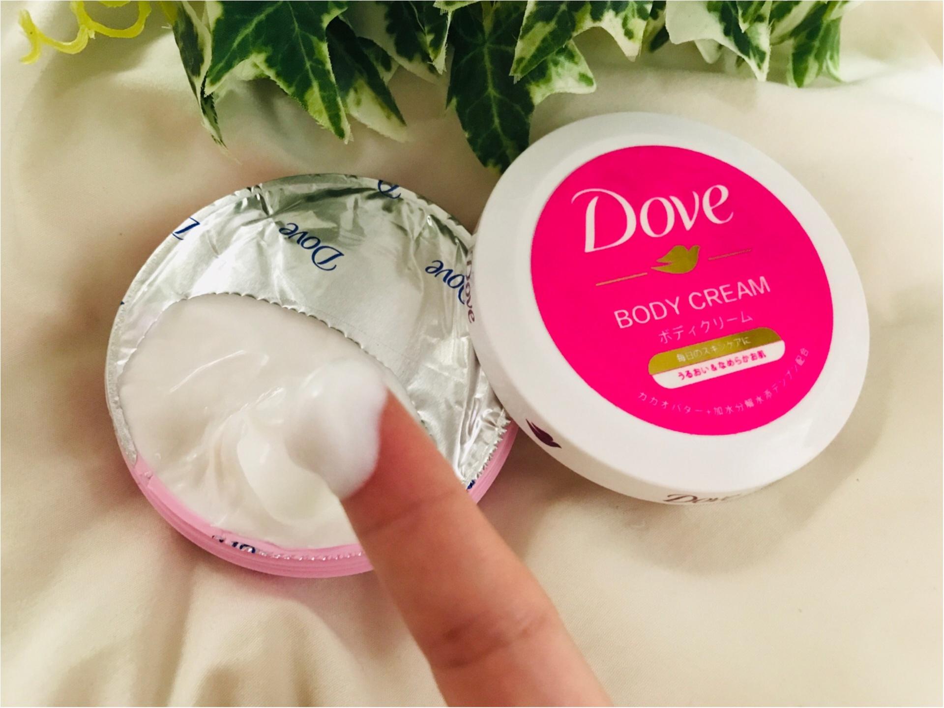 【キャンドゥ】売切れ続出!あの《Dove》がボディクリームに!なんと100円です♡_3