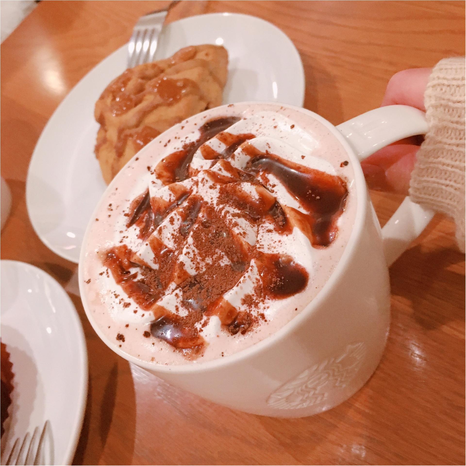 【スタバ】バレンタイン新作『チョコホリック ココ』と店員さん考案『アメリカンスコーン キャラメルトフィー』がついに登場!_2
