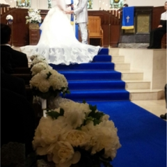 先日結婚式を挙げました♡