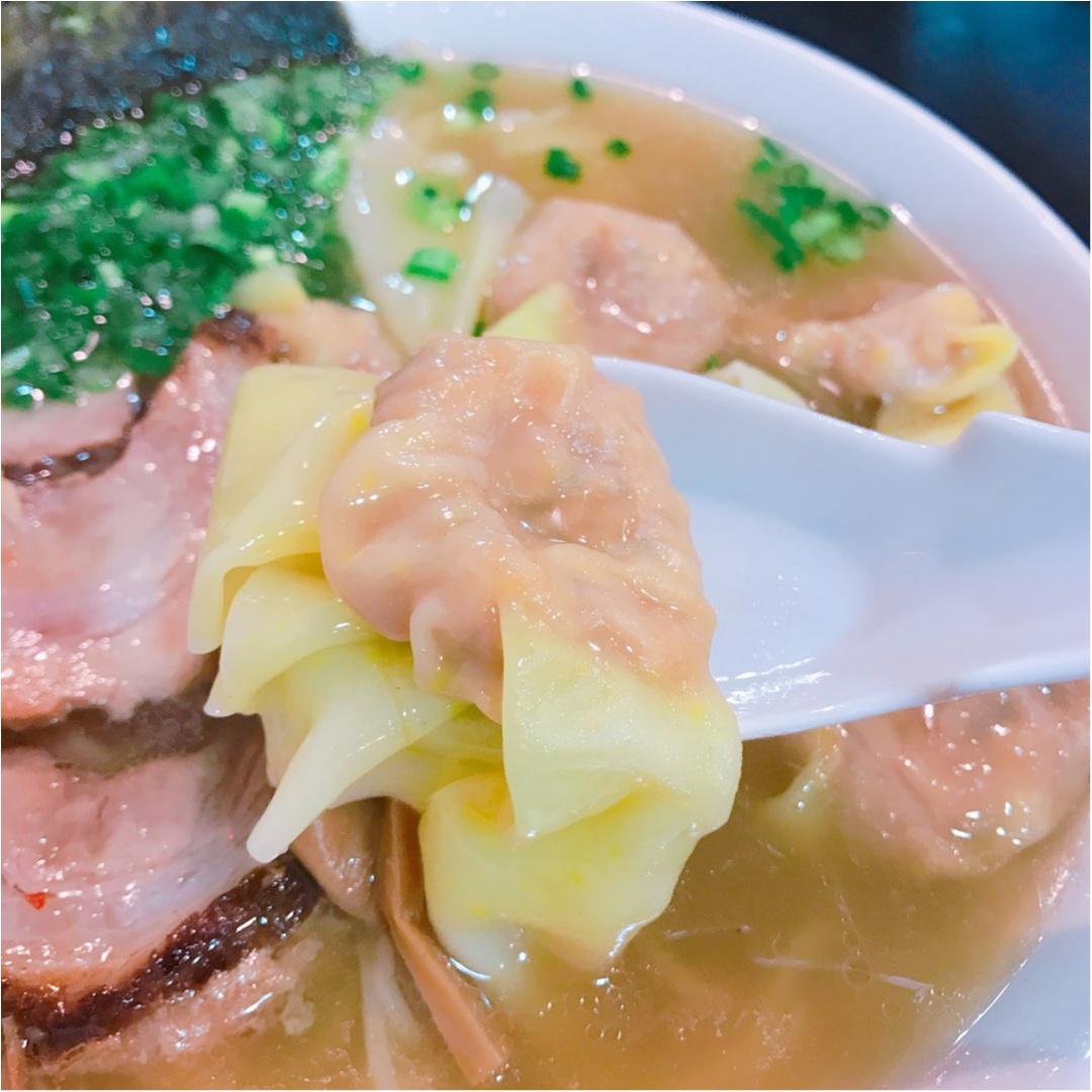《四ツ谷》お客の大半が頼む♡ワンタン麺が大人気のラーメン屋に行ってきました!_4