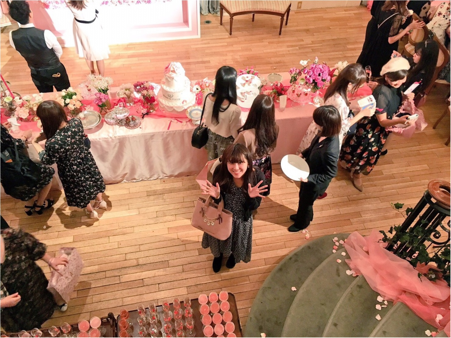 《Maison de FLEUR 4th Birthday Party.》メゾンドフルールの4周年パーティ♡私達、このピンクの世界を愛してる!♡♡_5