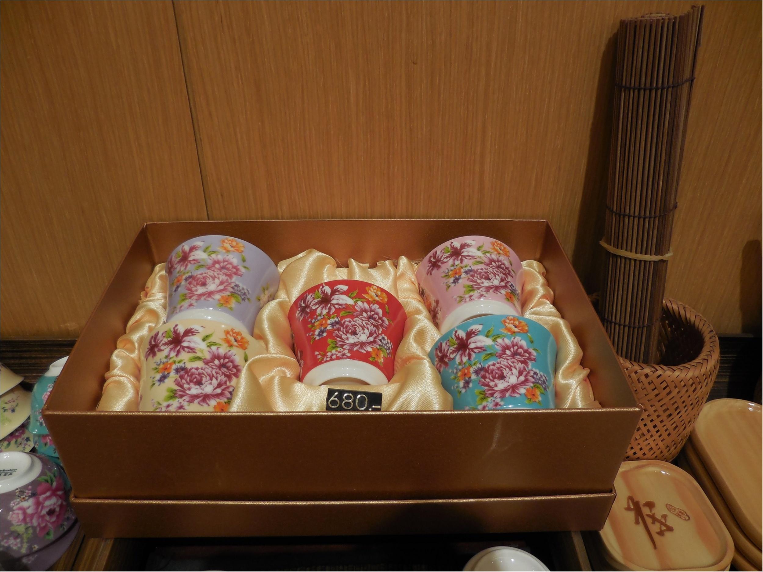 【台湾・台北】台湾花布をモチーフにした飲杯が最高に可愛い!_7