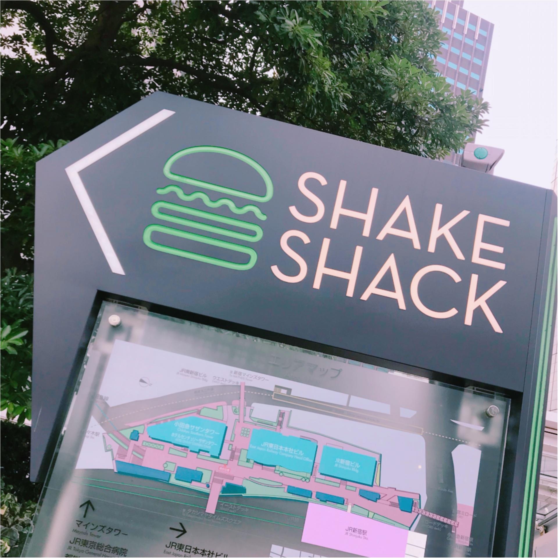 【NY発祥】おしゃれで素材にこだわる絶品ハンバーガーを東京で♡シェイクシャック☝︎☝︎_1