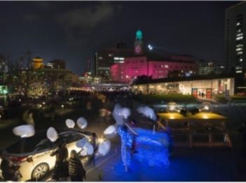 光のアートイベント「スマートイルミネーション横浜 2018」 記事Photo Gallery