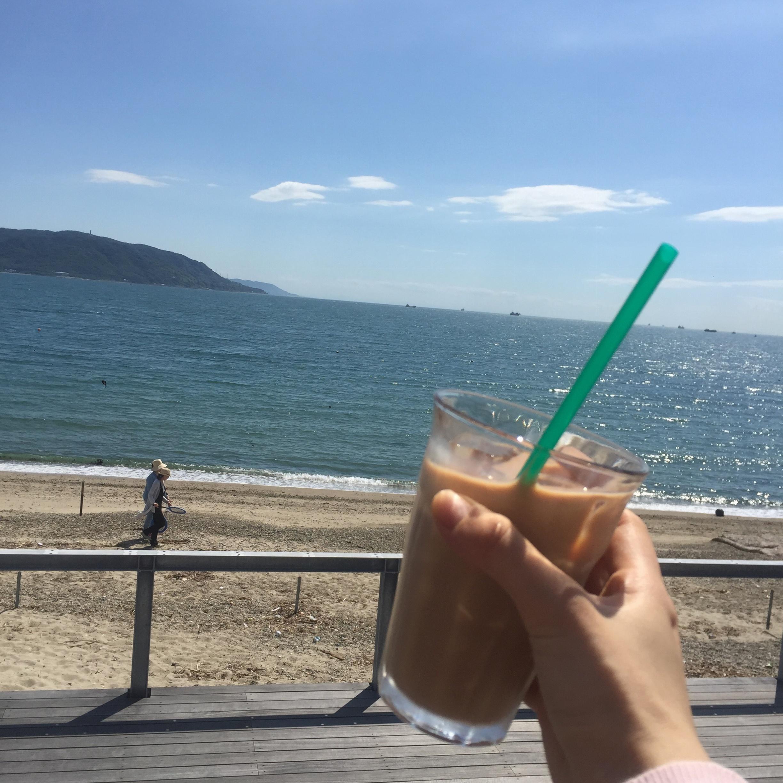 CLT工法を楽しむ♡明石のCLTカフェは贅沢オーシャンビュー♡_1