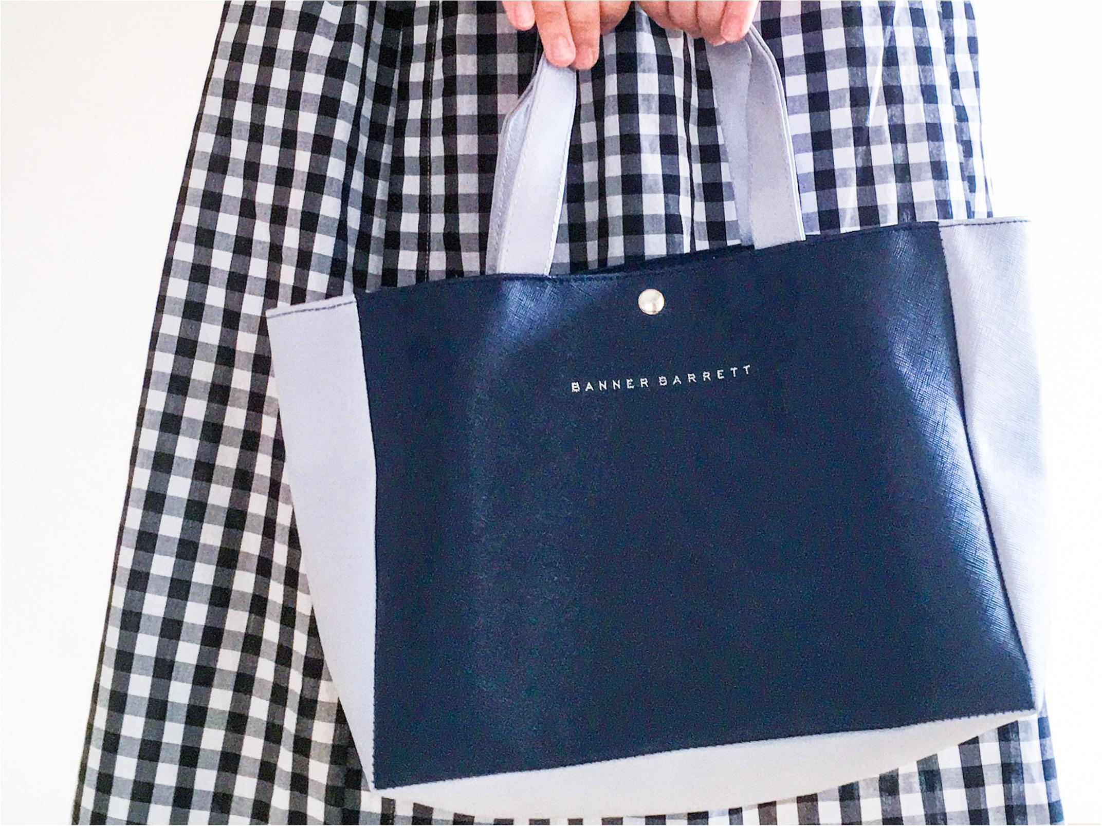 【MORE4月号は豪華2大付録♡】バナーバレット/大容量!A4サイズもすっぽり入るレザ調ーバッグが使える❁ _2