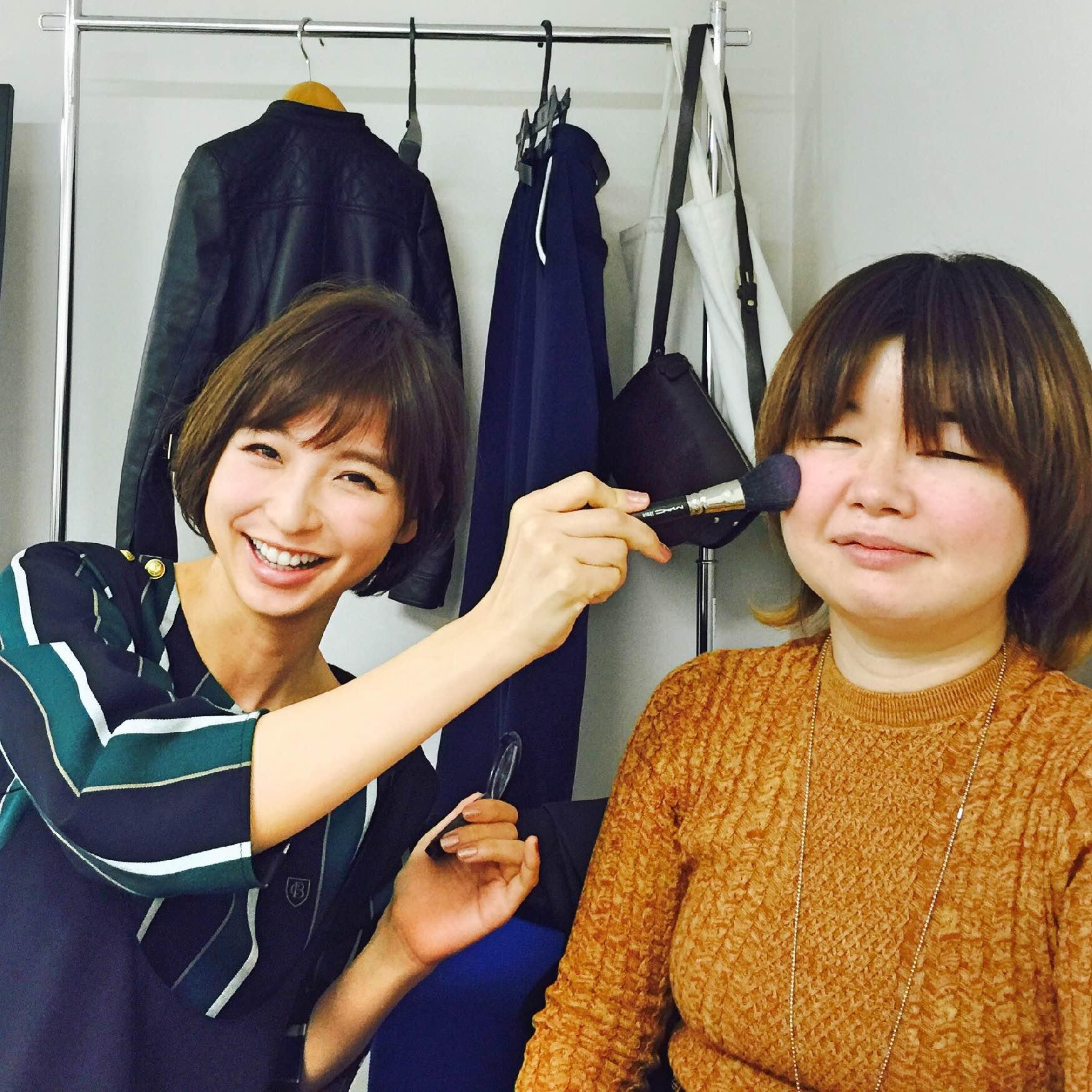 【オフショット】ヘア&メイク篠田麻里子☆_1
