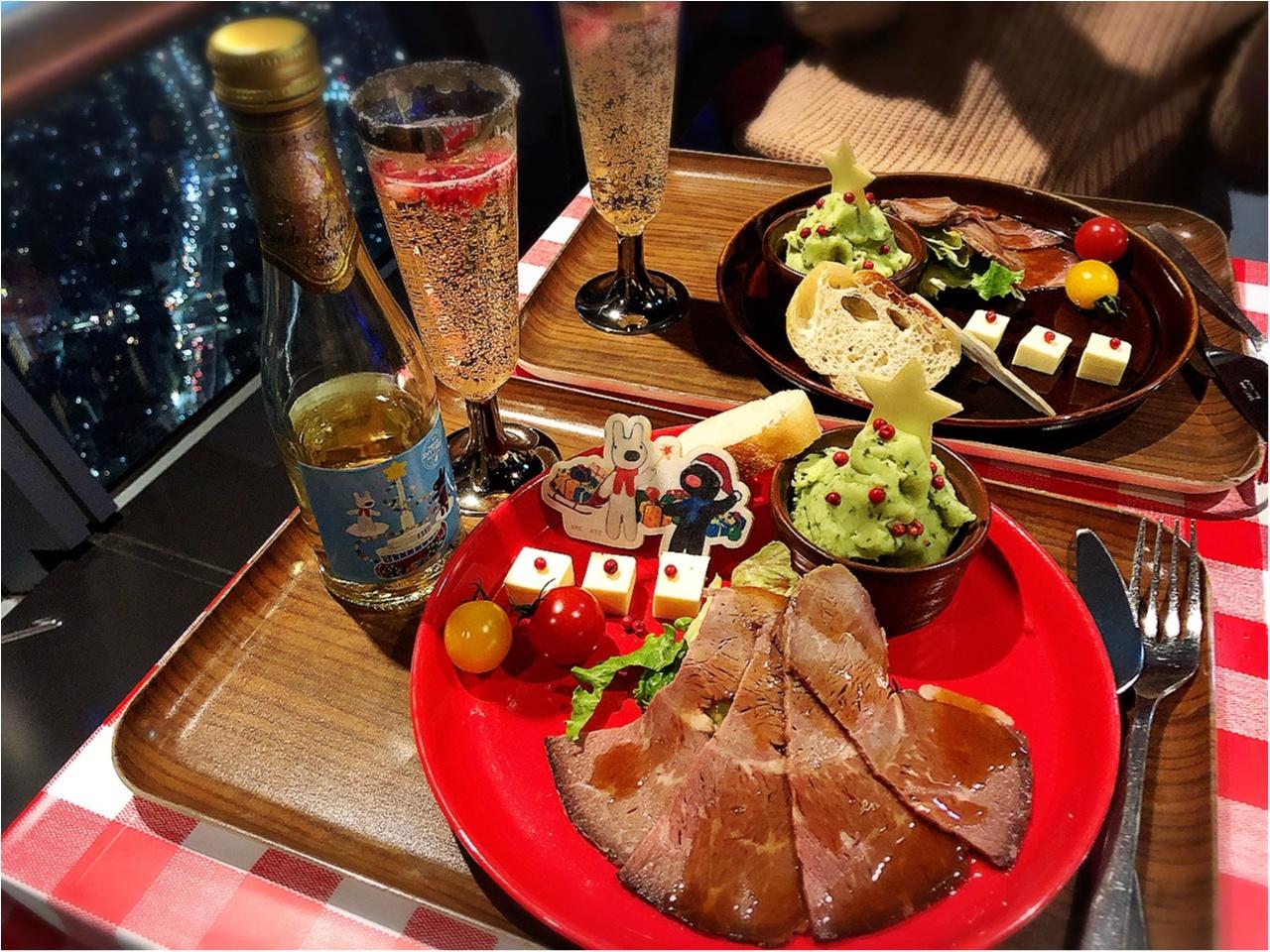 東京スカイツリー展望デッキで夜景とともに『リサとガスパール』のコラボクリスマス!!_4
