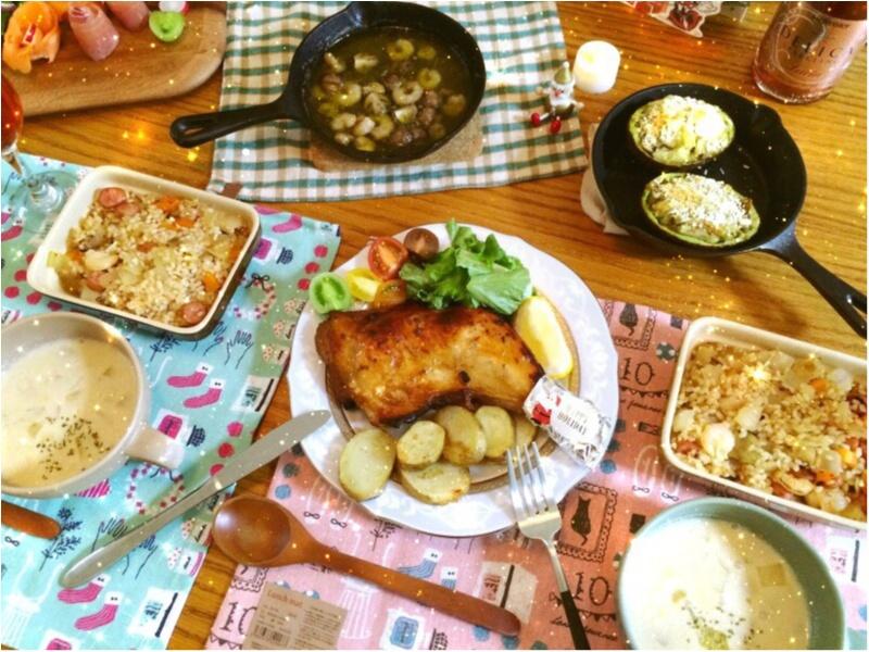 今年の【クリスマスおうちディナー】イチ押しは《アボカドのスコップコロッケ》_1