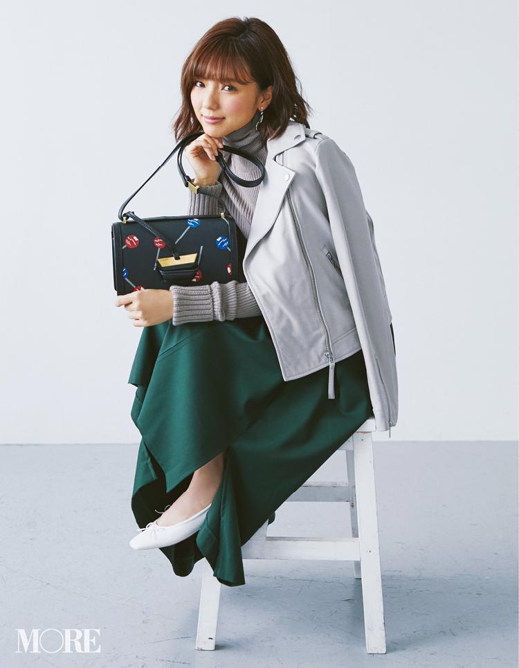 真野恵里菜さんの私物バッグの中身