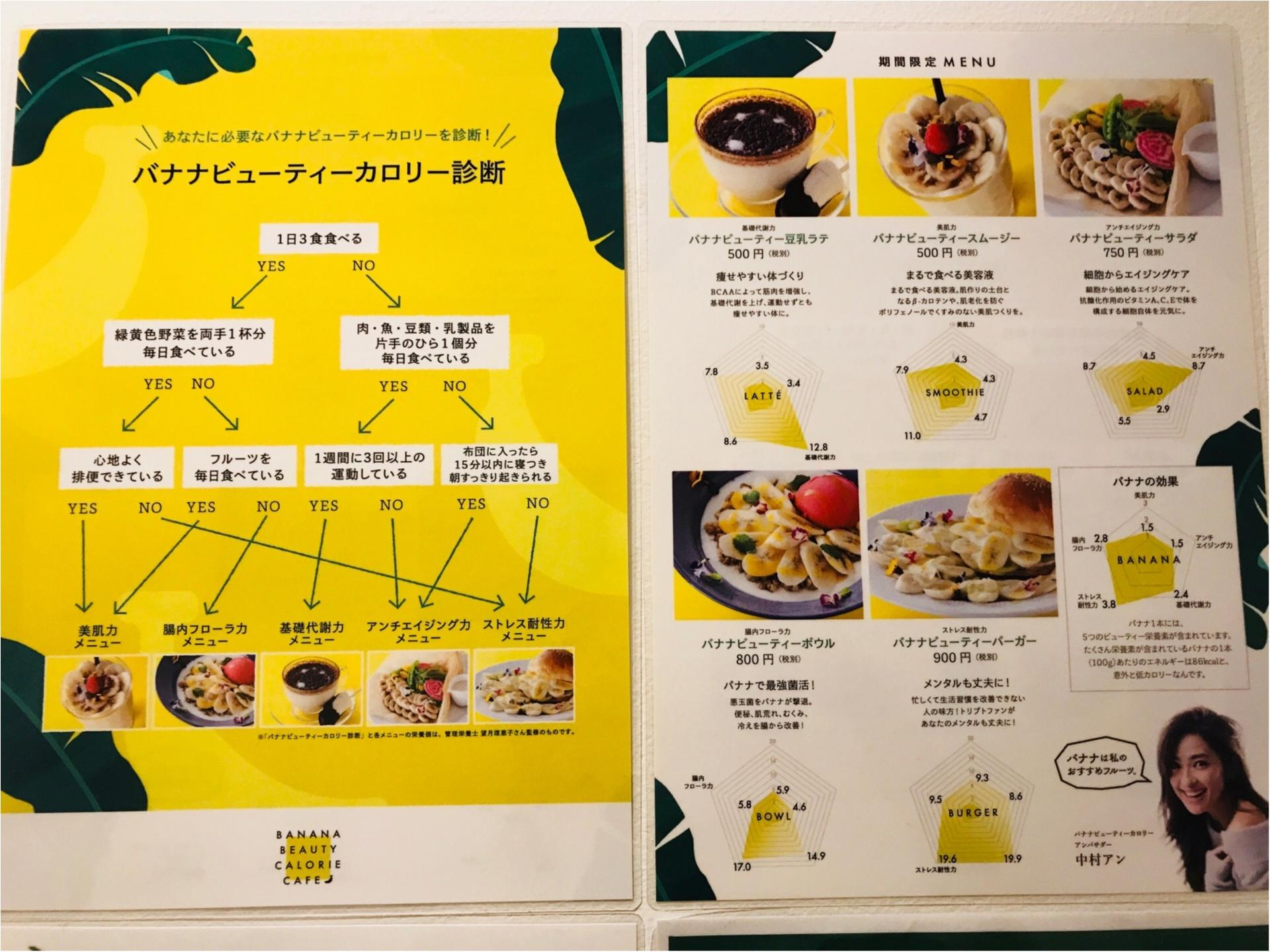 4日限定オープン!【バナナビューティーカロリーカフェ】がバナナづくしだった♡_2
