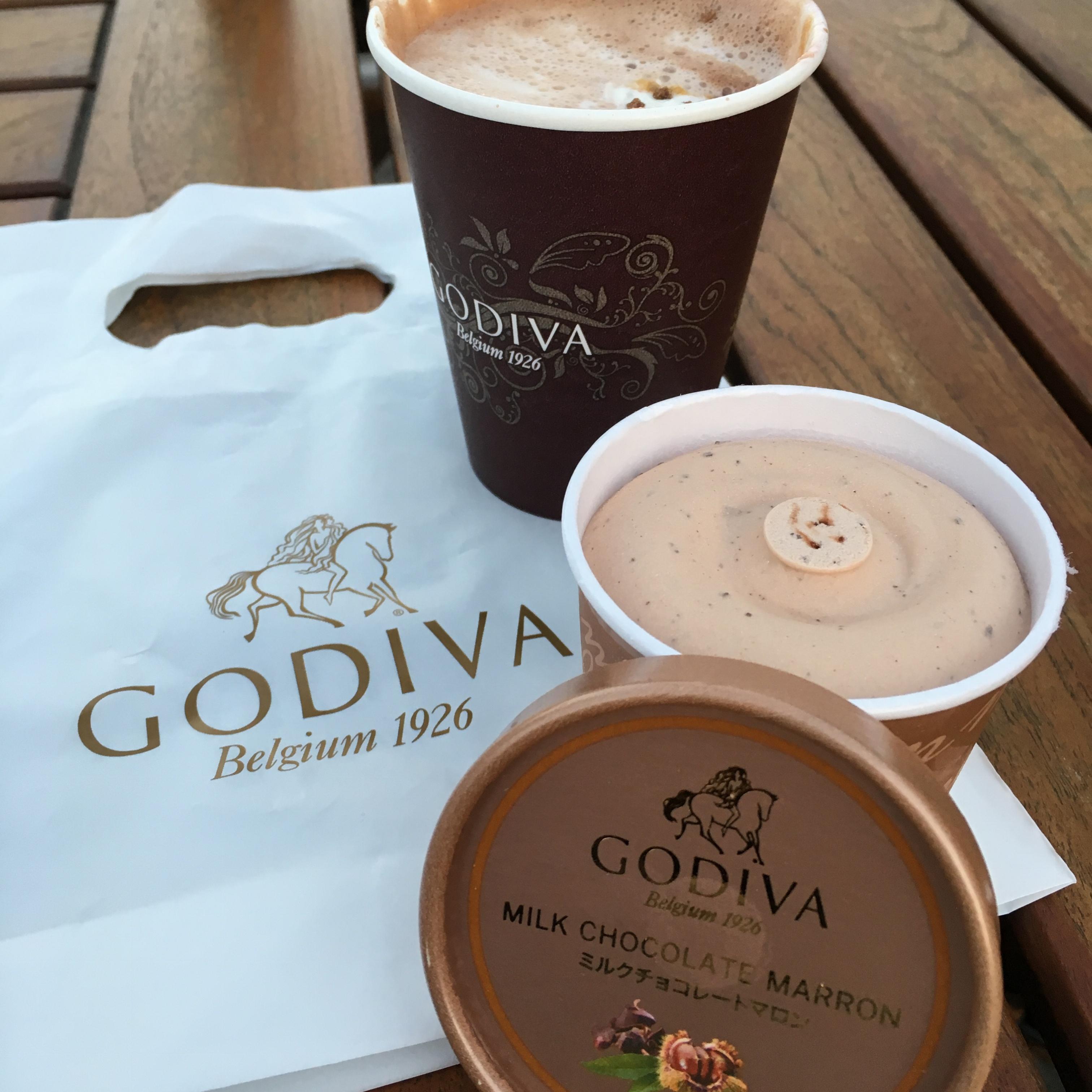 チョコレートweek♡【GODIVA】で見つけた美味しいアイス♡_1
