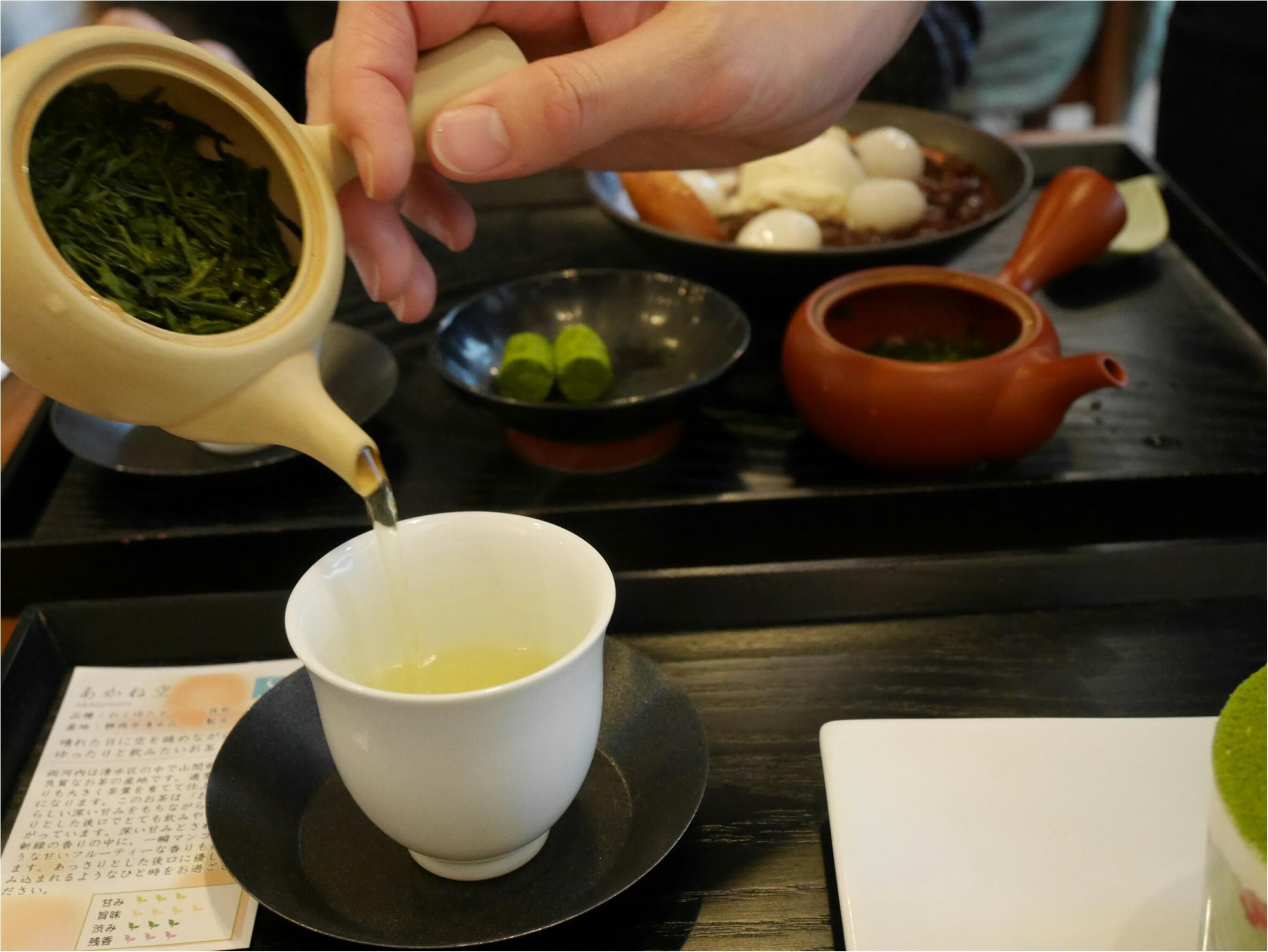 表参道にある「茶茶の間」は幅広い年代から愛される日本茶のカフェだった。_6