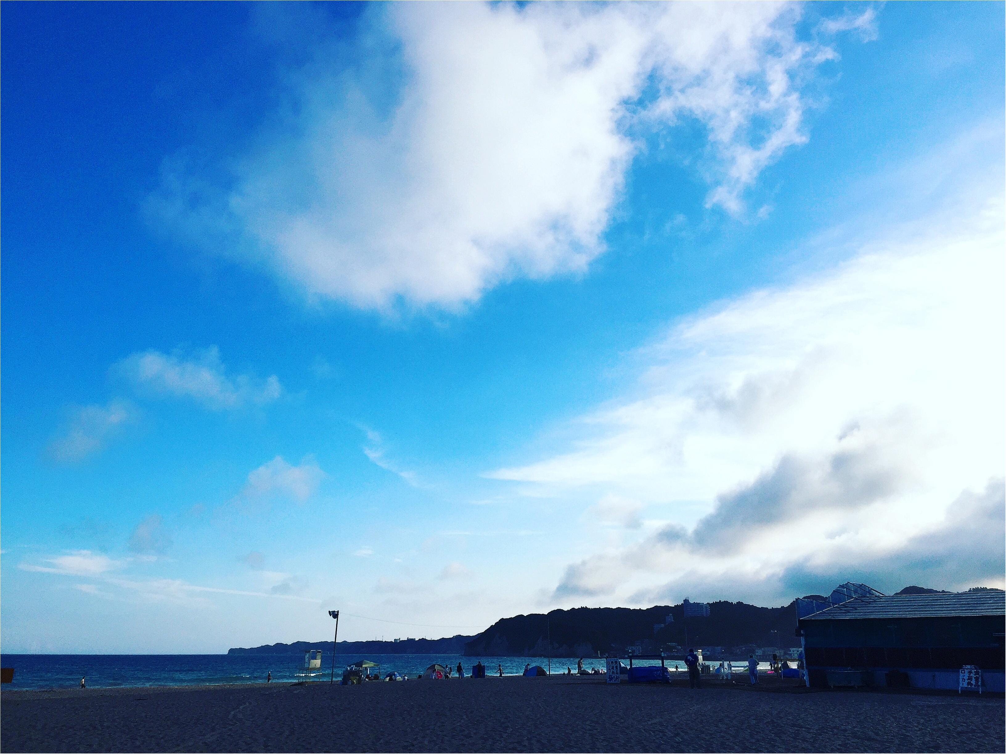 暑い陽射しの海も○○○があれば快適✨あの童謡で有名な【*御宿海岸*】で夏を満喫してきました♪_5