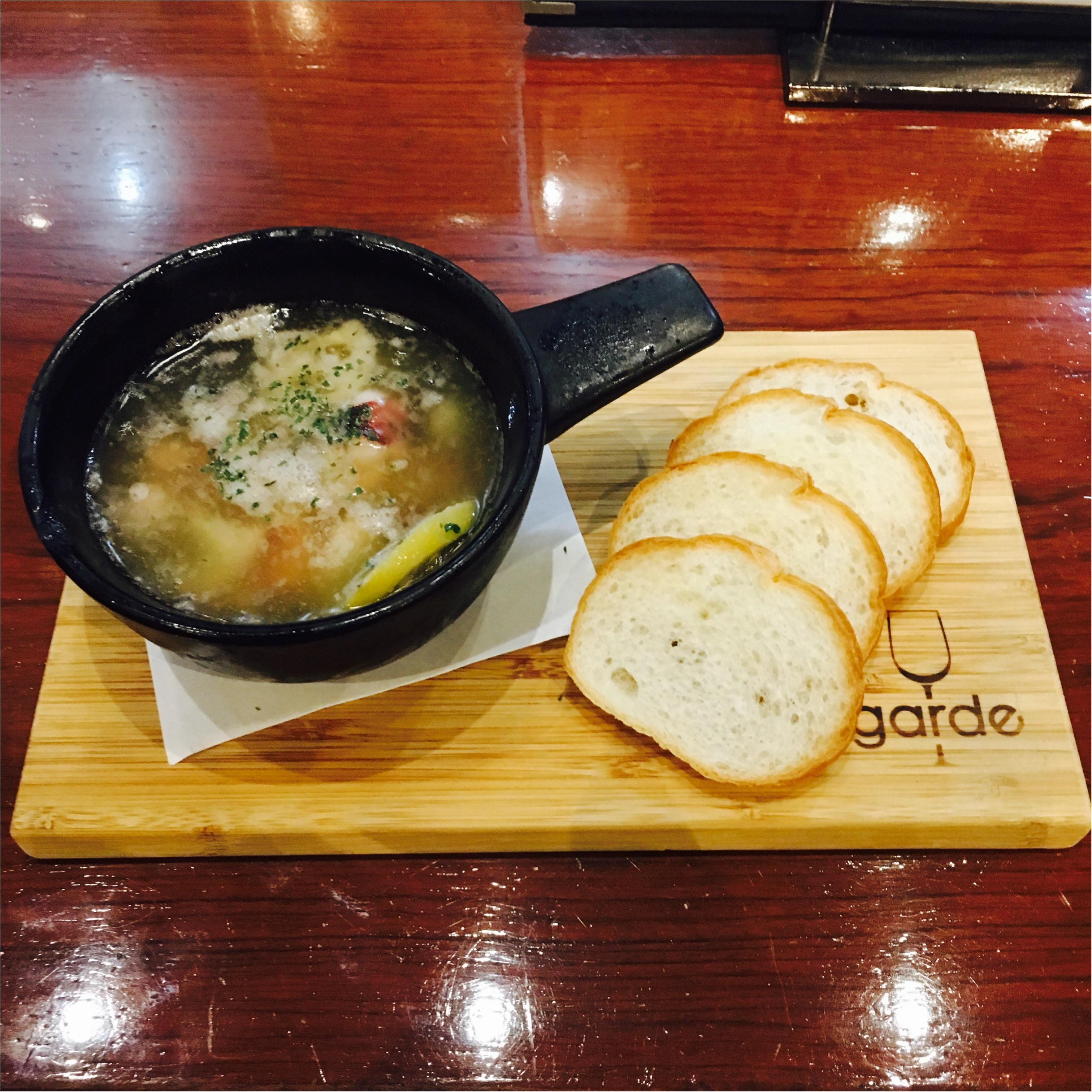 【ワインもお肉も美味しい♡】(京橋) Gardeで月曜からおひとりさまディナー_2