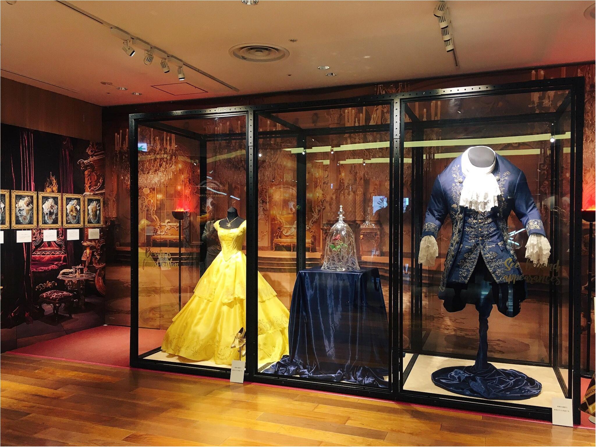 本物の衣装がついに来日!『美女と野獣』の世界展 at GINZA MITSUKOSHIに行ってきました♡_1