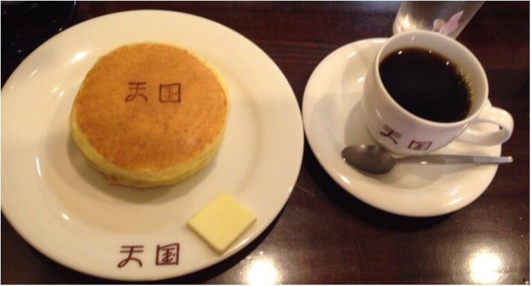 天国のパンケーキはやっぱり可愛い!蕎麦も堪能してきました✨_2
