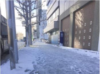 朝起きると、雪景色!!!