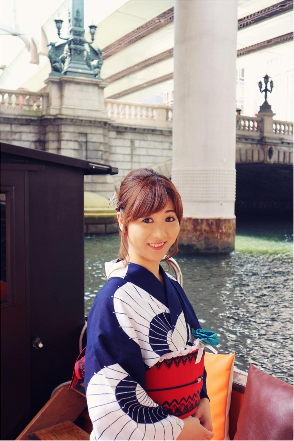浴衣で舟遊び♡いまホットな東京のランドマークをめぐる日本橋クルーズ☻_2
