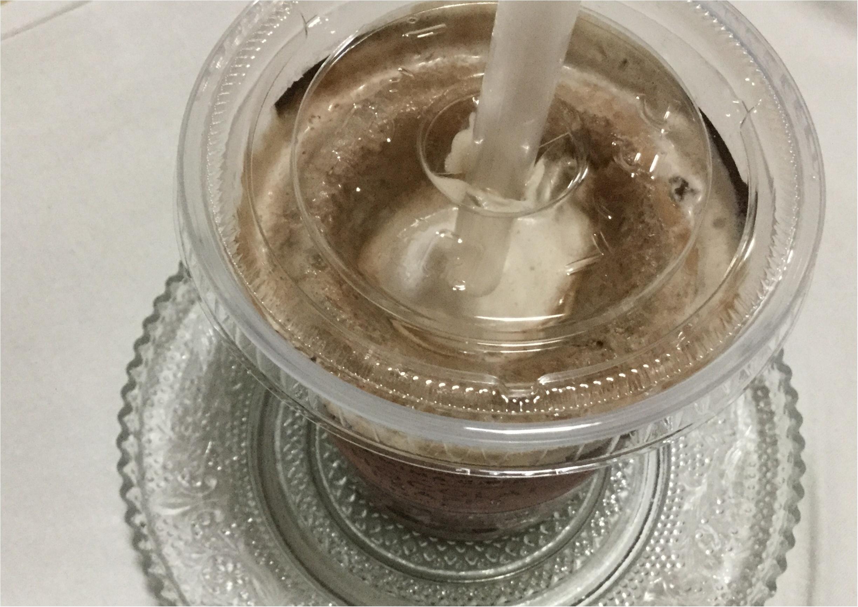 【コンビニドリンク】チョコレート好きにはたまらない!待ちにまったファミマの《チョコレートフラッペ》が復活❤️_2
