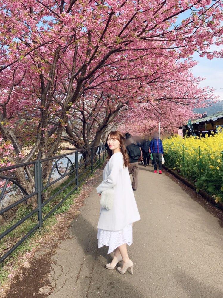 今が見頃❤︎3月なのに桜を楽しめる!河津桜を見に行ってきました*・゜゚・*:.。..。.:*・_7