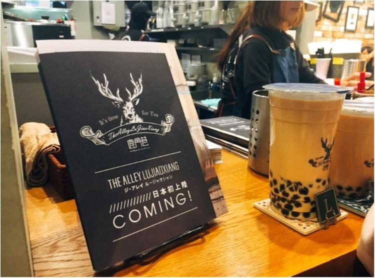 【台湾スイーツ】えっ!これって飲み物?!台湾発♡THE ALLEY LUJIAOXIANGの『盆栽タピオカミルクティー』♡♡_7