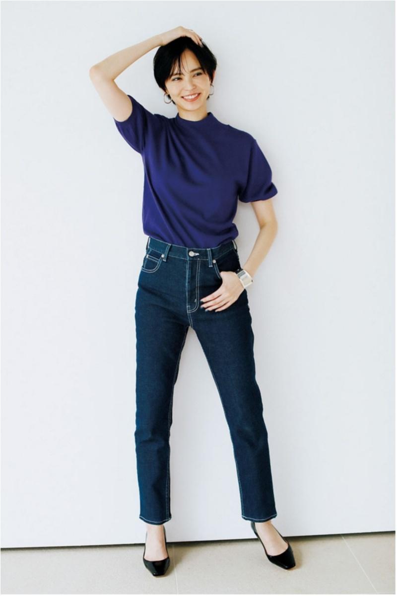 2018年秋のデニムファッションコーディネート2