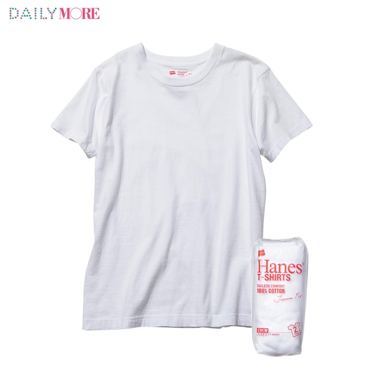 【4つのパックTを、ちくちく比べてみた!】おしゃれな人の溺愛白Tシャツ「ヘインズ」大解剖!_2_1