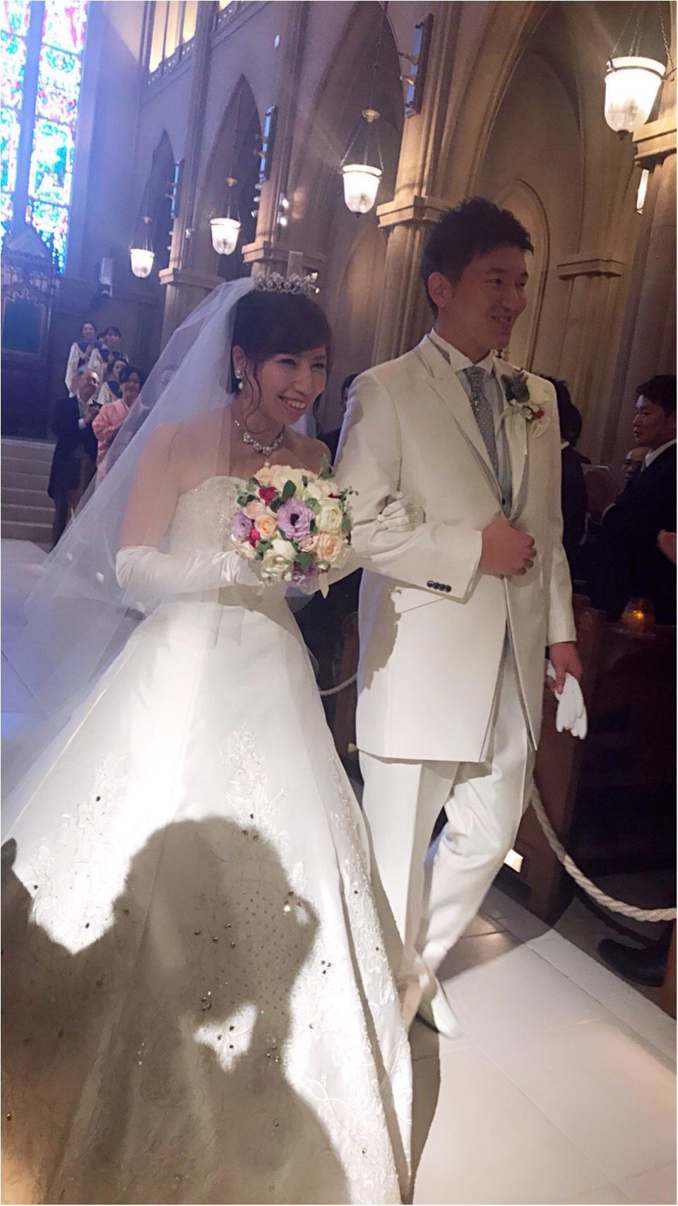 《Happy wedding》around25お呼ばれコーデは華やかにカラードレスにハーフアップで♡式に華を添えましょう!_2
