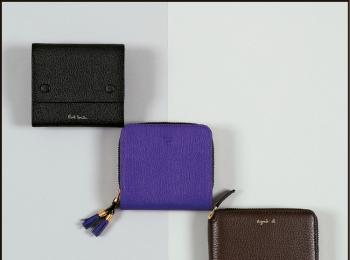 名刺サイズ、ミディアムサイズ、がまぐちにバッグ型も!「春財布=張る財布」で金運アップ☆