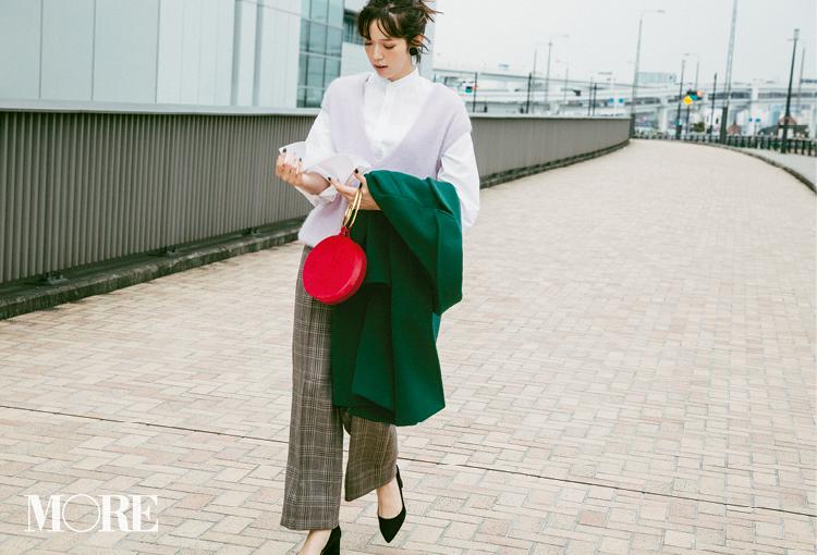 注目のきれい色【パープル】コーデ見本   ファッション(2018年秋冬編)_1_2