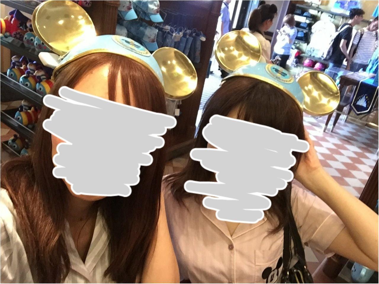【一周年!!】上海ディズニーランド限定イヤーキャップ紹介♥_3