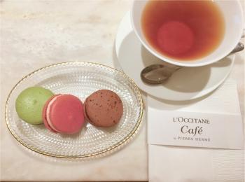 L'OCCITANE Café by Pierre Hermé(ロクシタンカフェ バイ ピエール・エルメ)へ♡