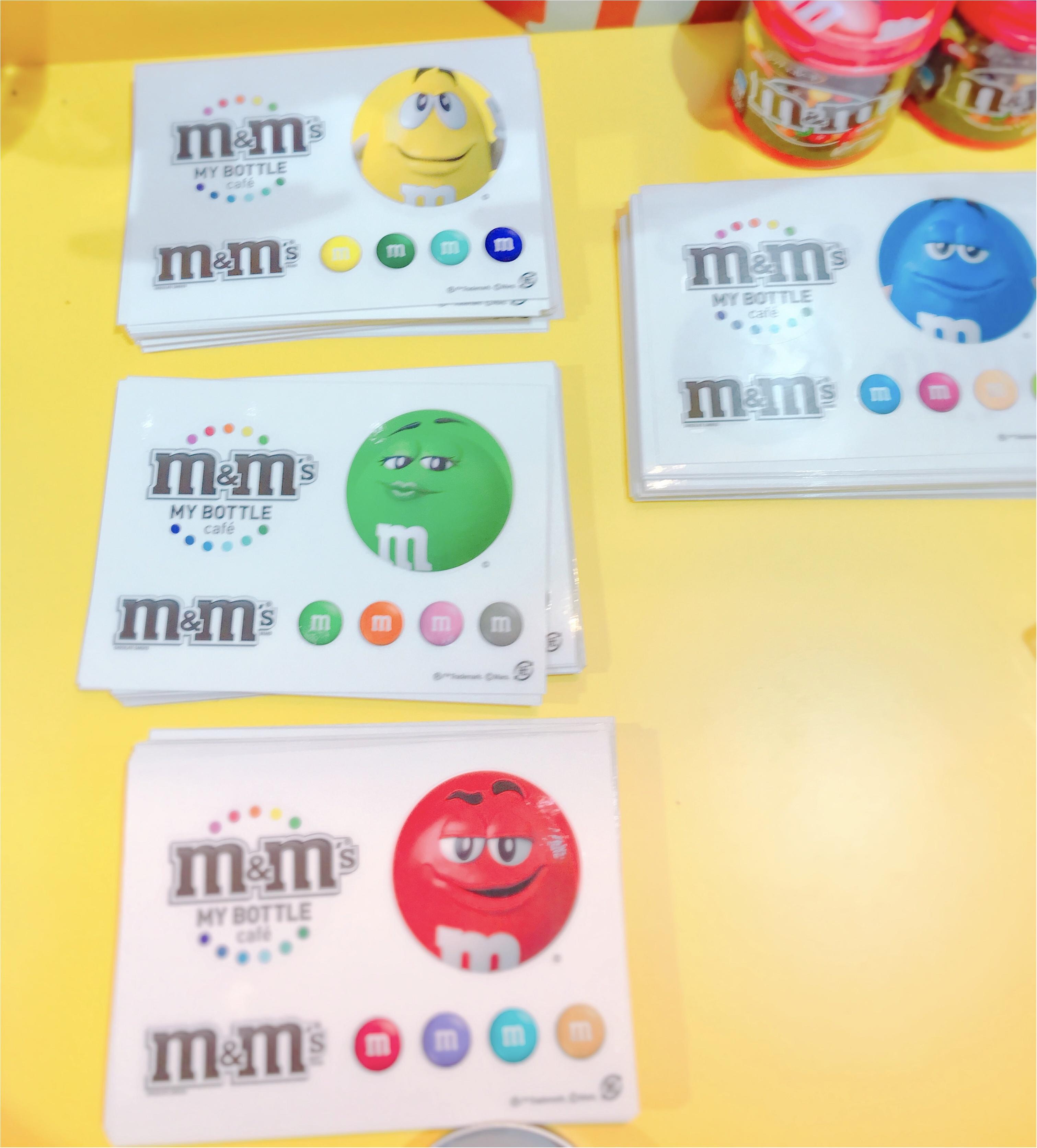 《期間限定》原宿にNY発カラフルパフェ登場✨日本初上陸のM&M'Sマイボトルチョコを作っちゃおう♪_8