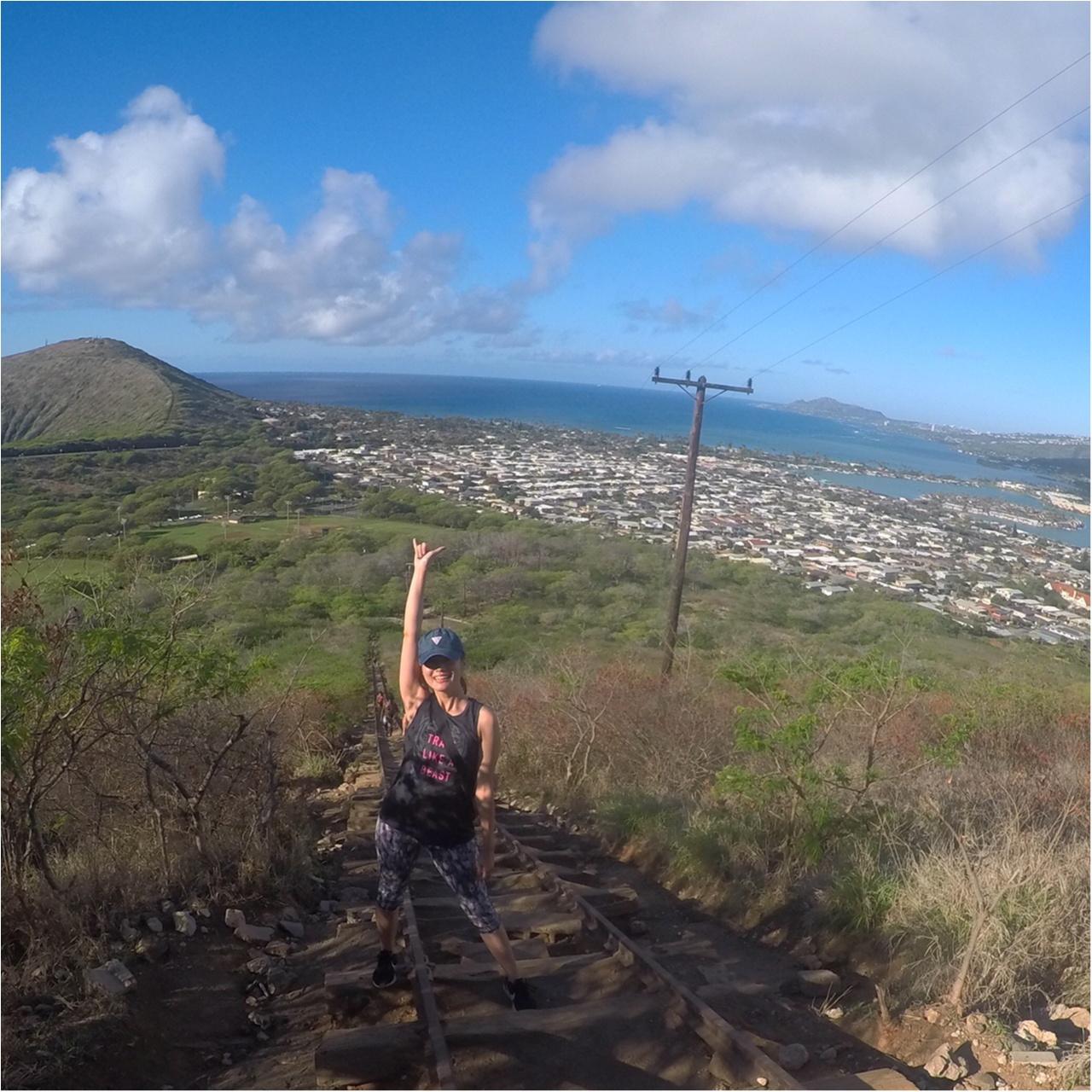 【ハワイ旅①】ダイヤモンドヘッドだけじゃない、ハワイのハイキング!キツい分それ以上の景色と感動が待っていました♡♡♡_8