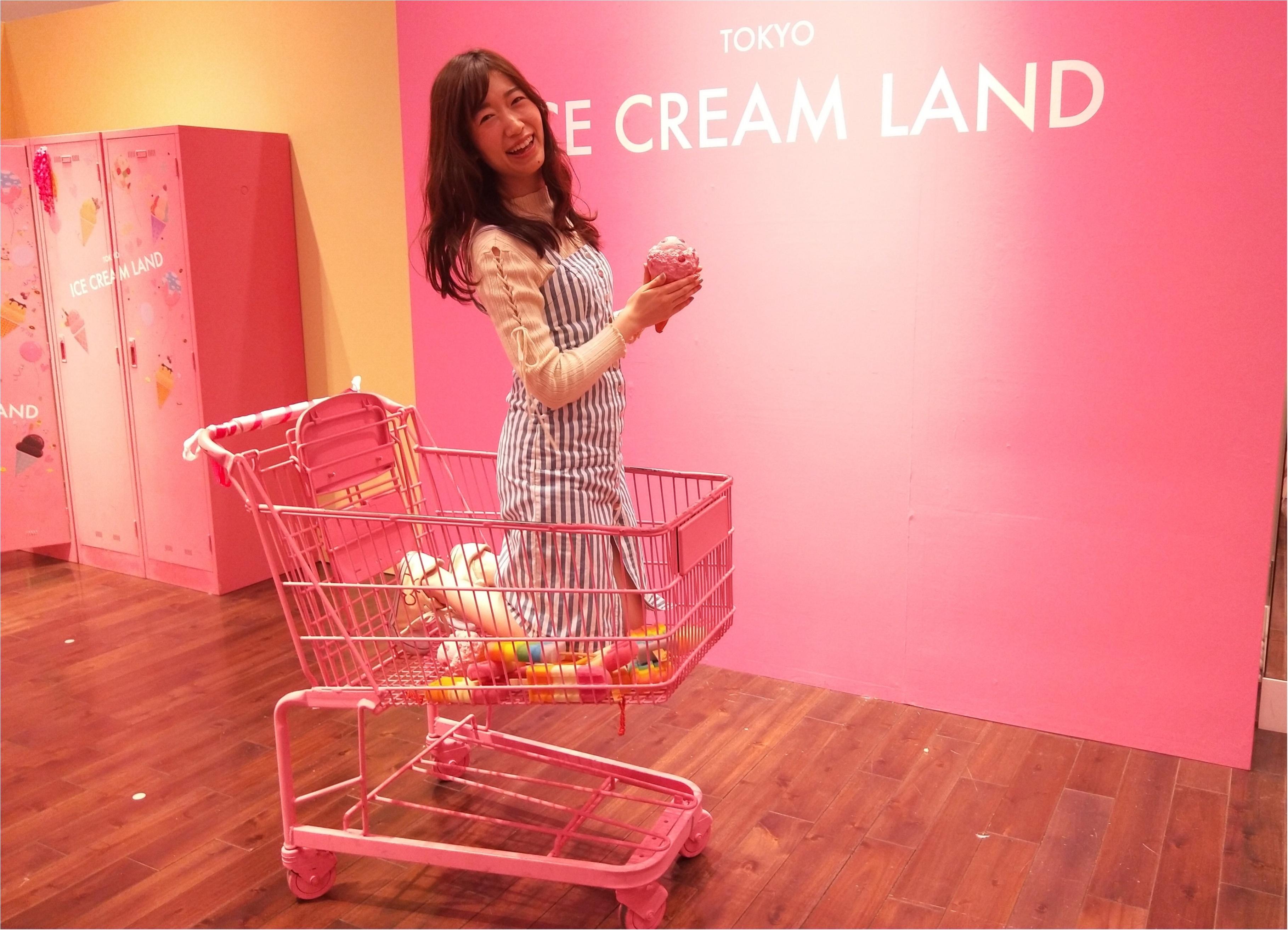 アイスクリームの夢の国「ICE CREAM LAND」でフォトジェニック空間を満喫♡横浜コレットマーレ5/27まで!_2_3