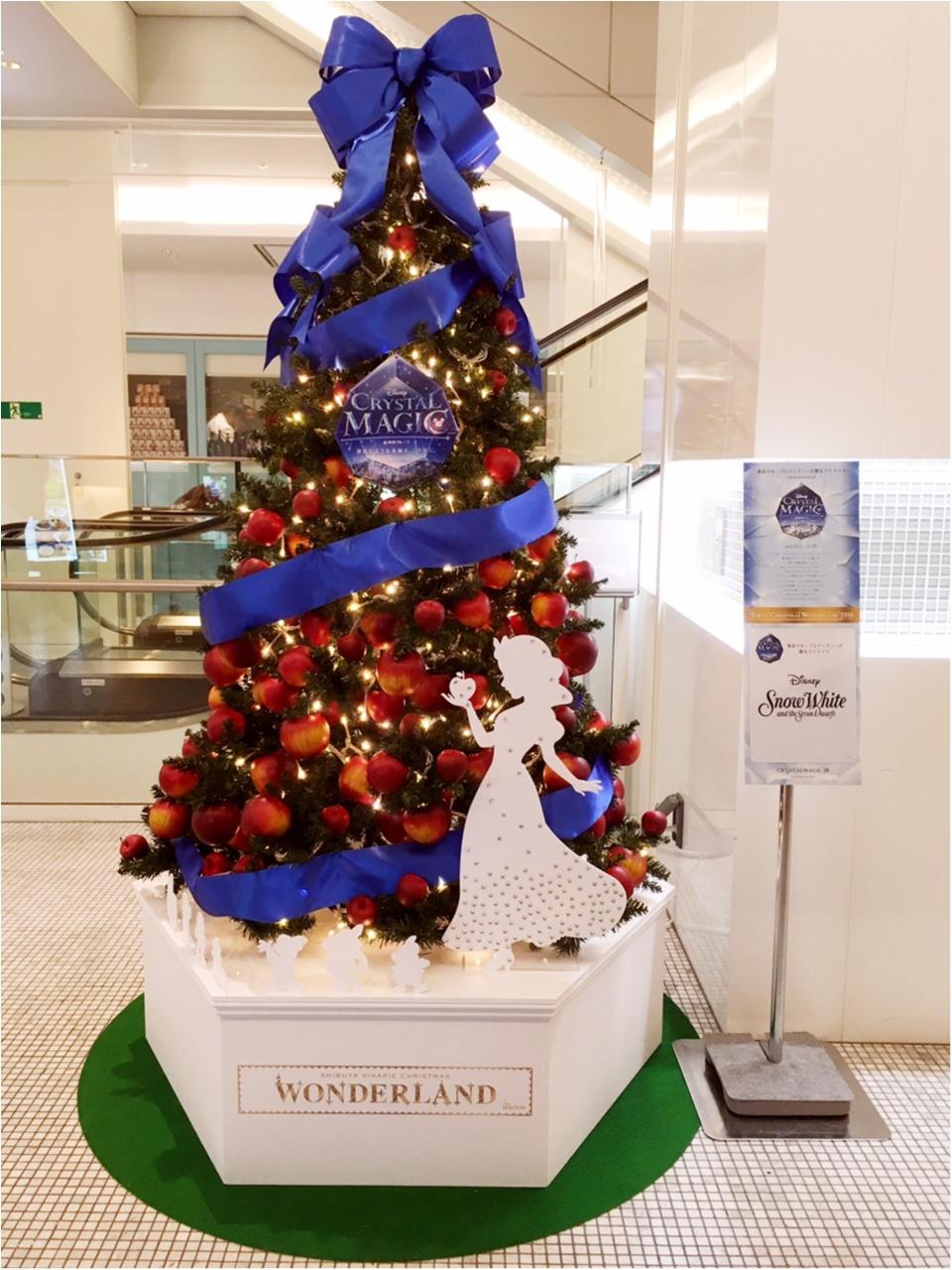 『渋谷ヒカリエ』のクリスマスはディズニープリンセスたちとコラボ♡『ラプンツェル・ツリー』点灯式に行ってきました(﹡´◡`﹡ )♡_9